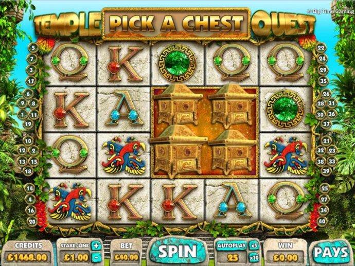 No Deposit Casino Guide - Pcik a Chest bonus feature triggered