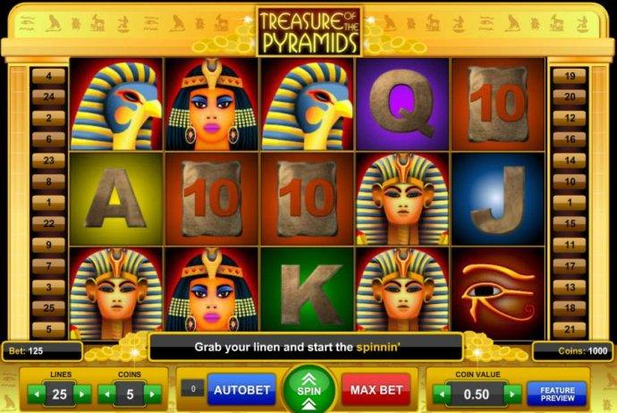 Treasure of the Pyramids by No Deposit Casino Guide