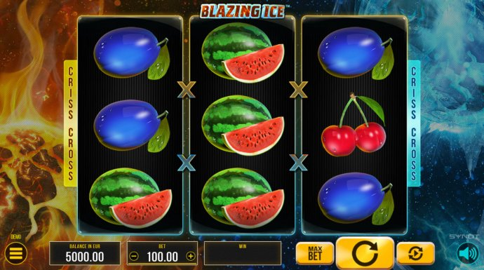 Blazing Ice by No Deposit Casino Guide