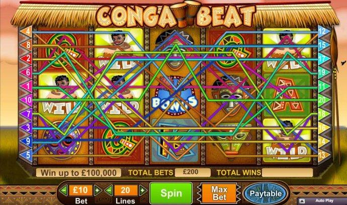 Conga Beat screenshot