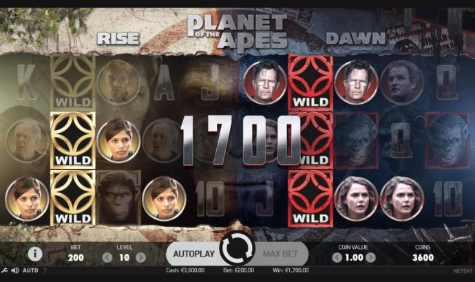 No Deposit Casino Guide image of Planet of the Apes