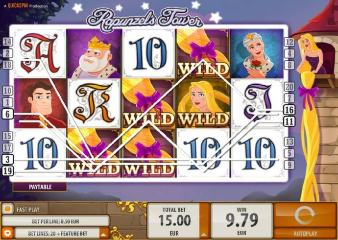 Rapunzel's Tower by No Deposit Casino Guide