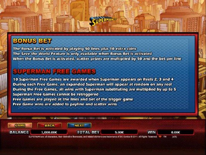 No Deposit Casino Guide image of Superman