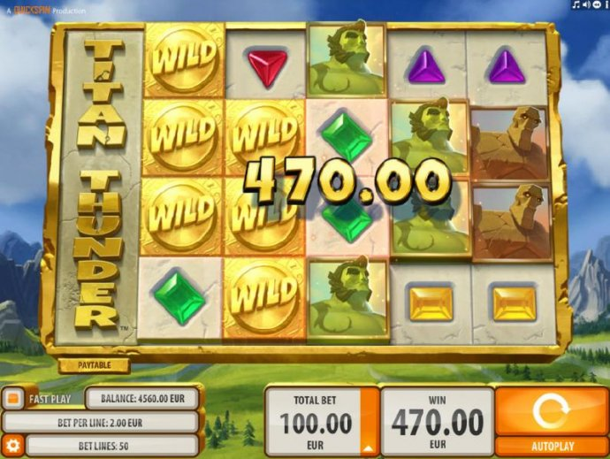 Wild symbols combine with base game symbols triggering multiple winning paylines. by No Deposit Casino Guide