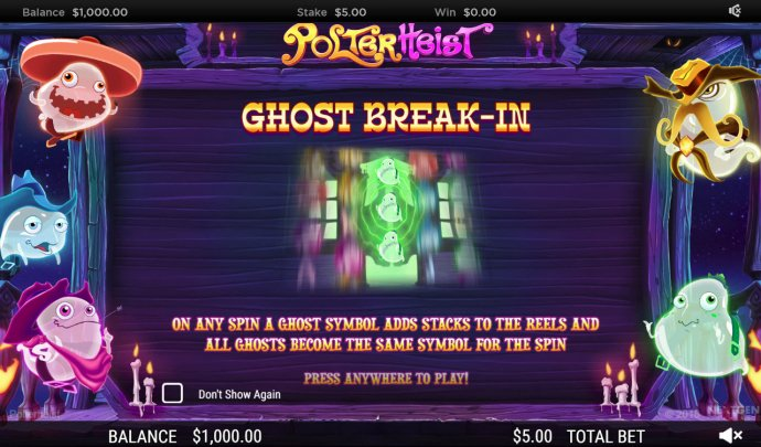 No Deposit Casino Guide image of Polterhiest