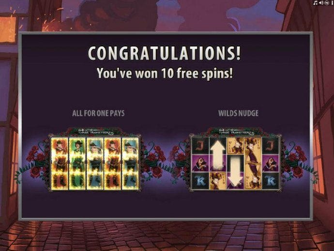 The Three Musketeers by No Deposit Casino Guide