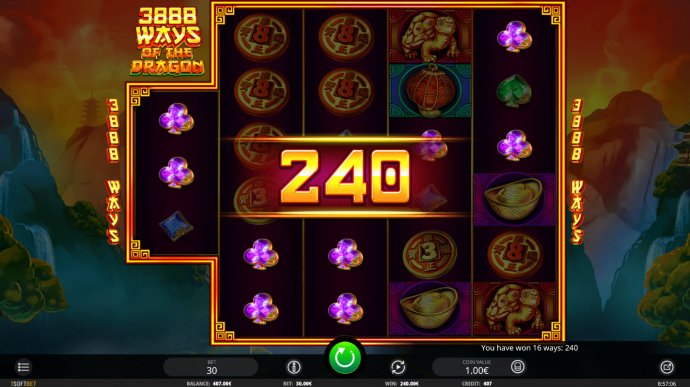 No Deposit Casino Guide image of 3888 Ways of the Dragon