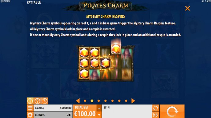 No Deposit Casino Guide image of Pirates Charm
