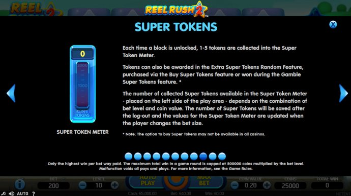 No Deposit Casino Guide image of Reel Rush 2