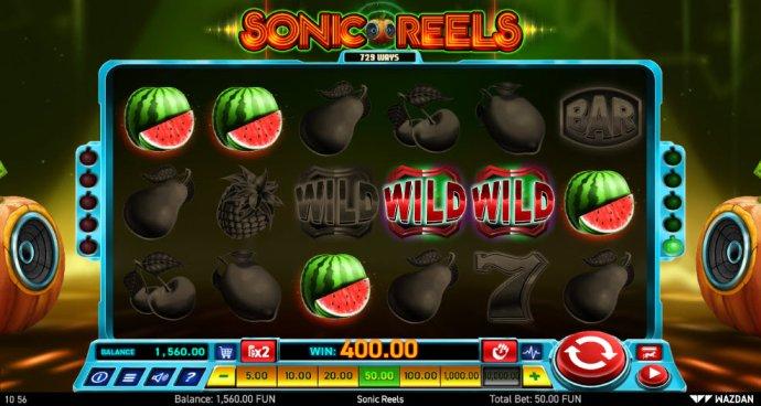 Sonic Reels screenshot