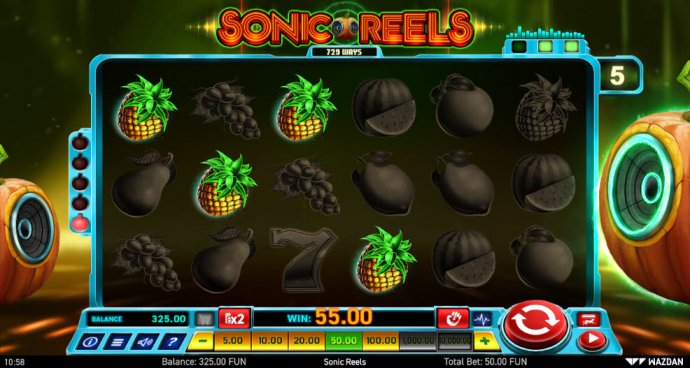 No Deposit Casino Guide image of Sonic Reels