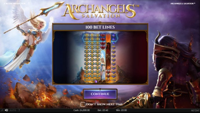 Archangels Salvation by No Deposit Casino Guide