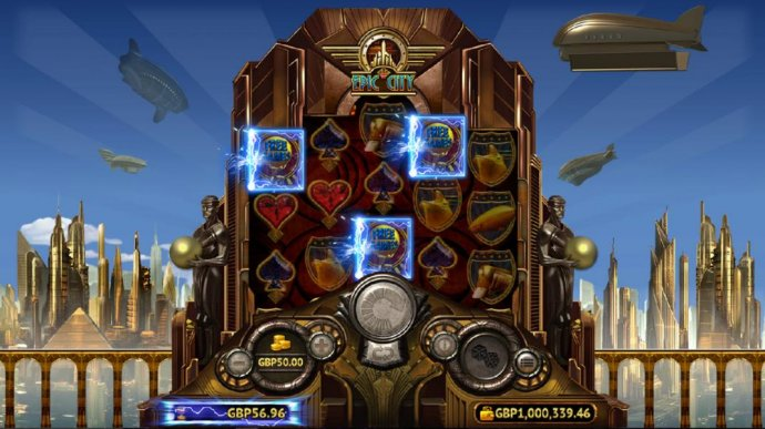 No Deposit Casino Guide - Three Free Games scatter symbols triggers the Free Games feature.
