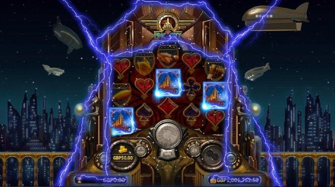 Three Bonus symbols on reels 1, 3 and 5 triggers the Power Bonus. - No Deposit Casino Guide