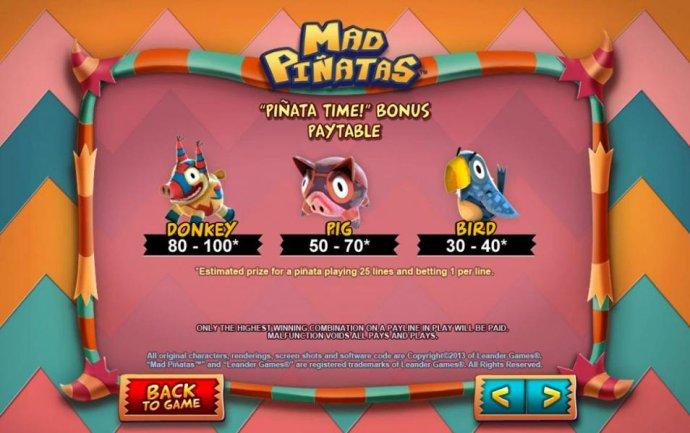 Mad Pinatas screenshot