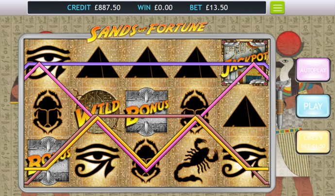 Sands of Fortune screenshot