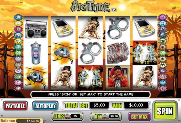 No Deposit Casino Guide image of Big Time