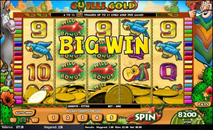 Chilli Gold by No Deposit Casino Guide