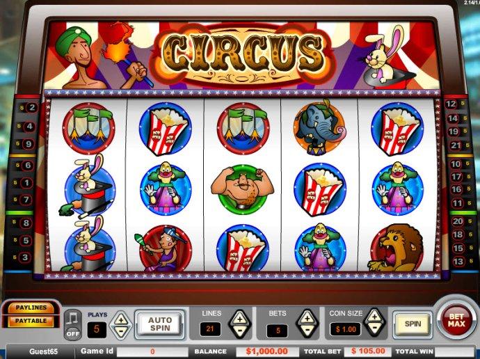 No Deposit Casino Guide image of Circus