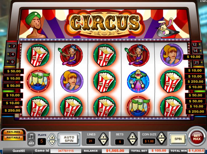 Circus screenshot