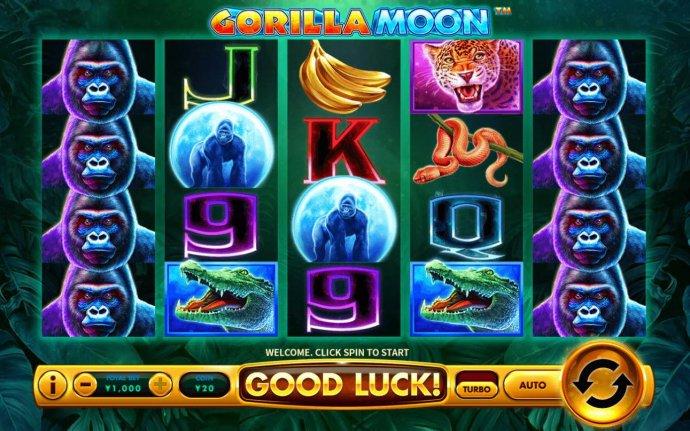 No Deposit Casino Guide image of Gorilla Moon