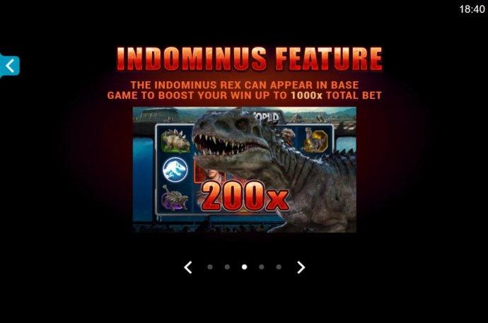 No Deposit Casino Guide - Indominus Feature Rules