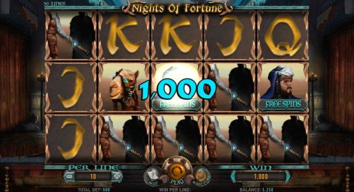 Nights of Fortune screenshot
