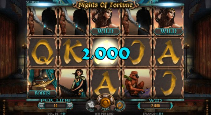An awesome 2,000 coin jackpot win! by No Deposit Casino Guide