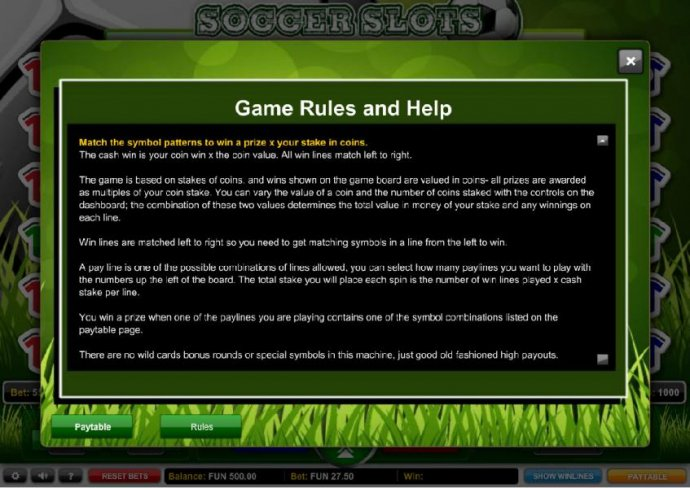 Soccer Slots by No Deposit Casino Guide