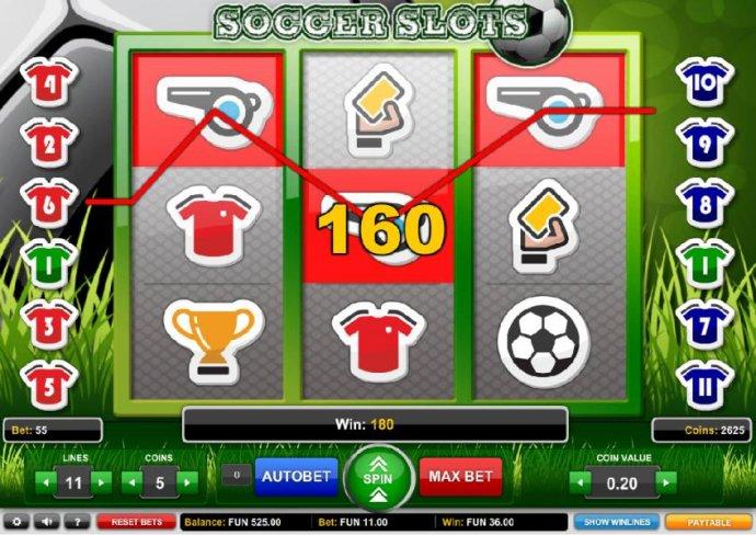 Soccer Slots screenshot