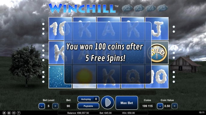 Win Chill by No Deposit Casino Guide