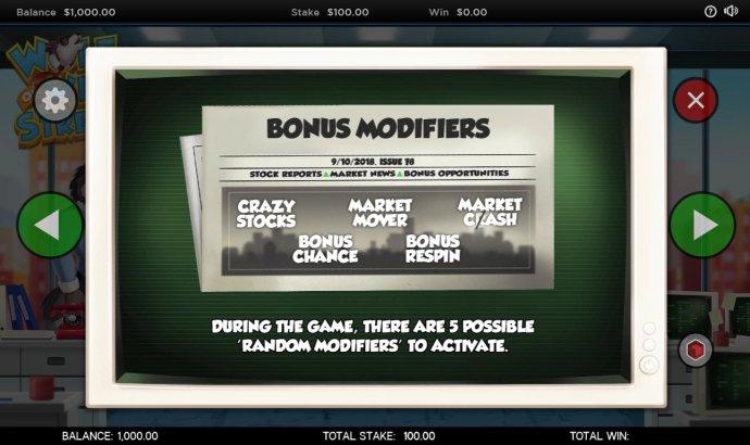 No Deposit Casino Guide - Reel Modifiers