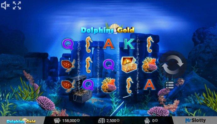 Dolphins Gold screenshot