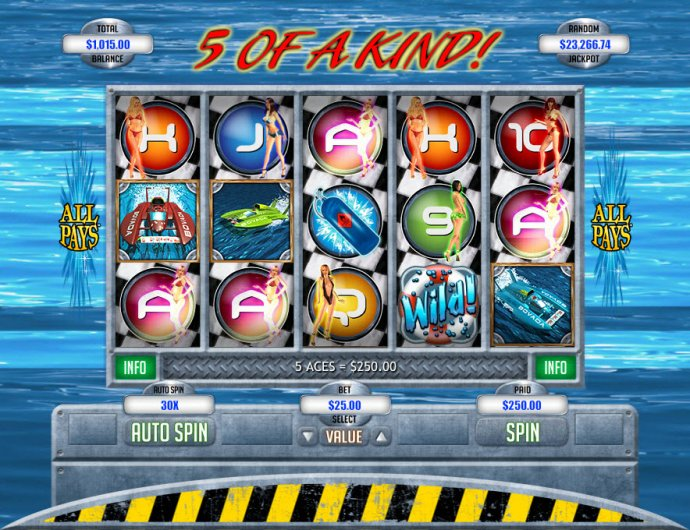 No Deposit Casino Guide image of Hydro Heat