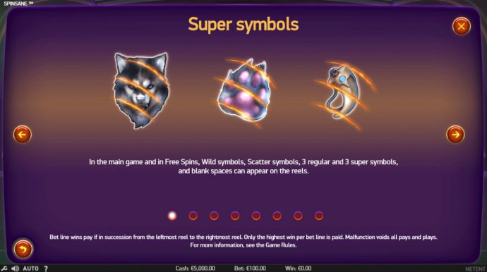 Super Symbols by No Deposit Casino Guide