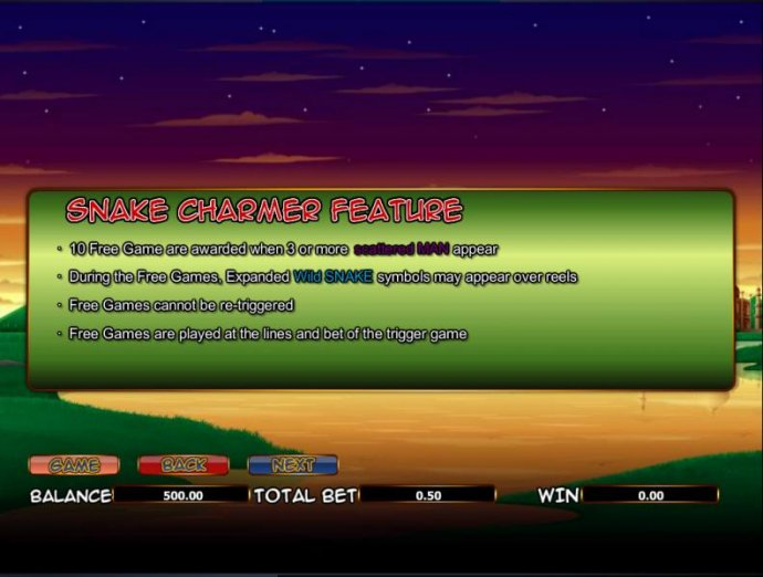 snake game feature rules by No Deposit Casino Guide