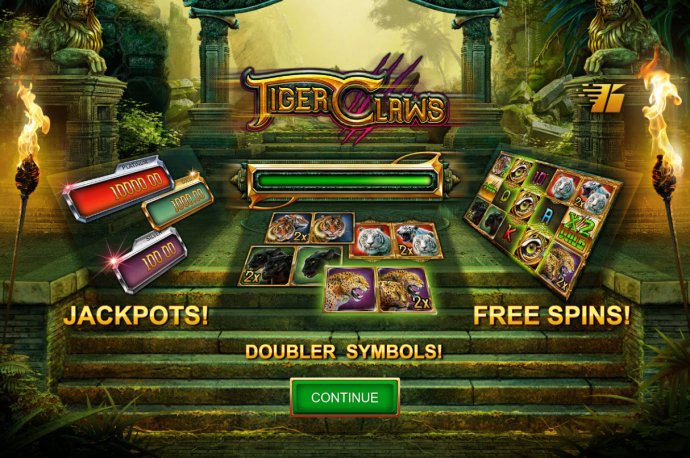 No Deposit Casino Guide image of Tiger Claws
