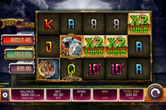 Tiger Claws by No Deposit Casino Guide