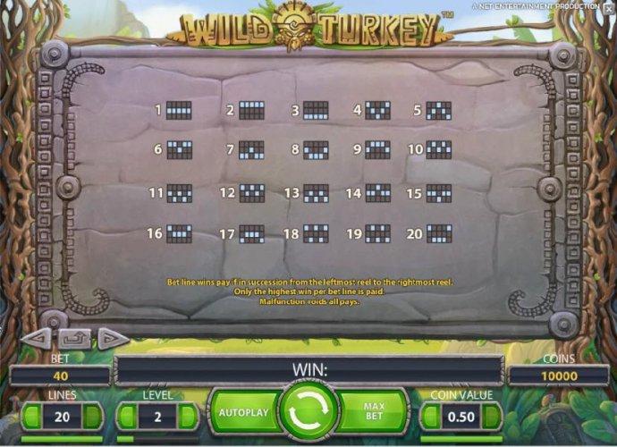 No Deposit Casino Guide image of Wild Turkey