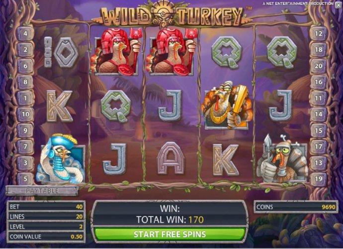 Wild Turkey screenshot