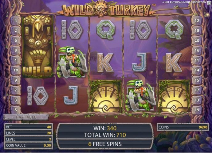 Wild Turkey by No Deposit Casino Guide