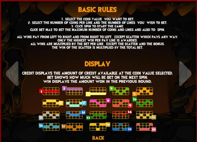 basic game rules by No Deposit Casino Guide