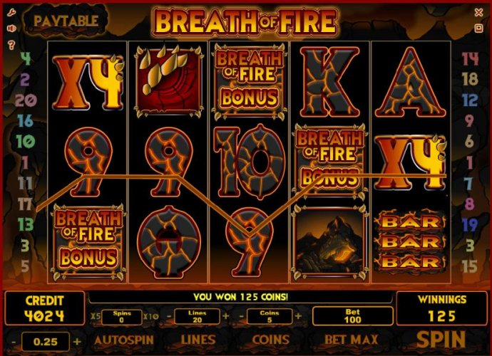 No Deposit Casino Guide image of Breath of Fire