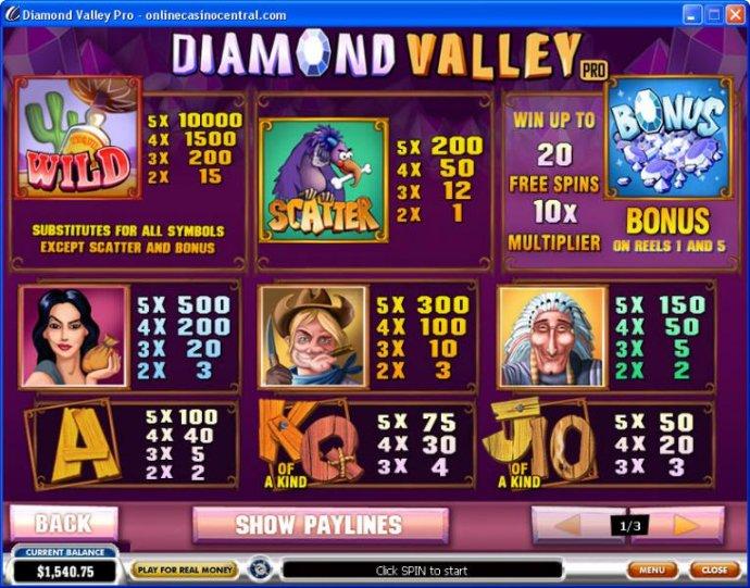Diamond Valley Pro screenshot