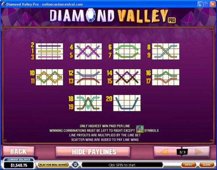 Diamond Valley Pro by No Deposit Casino Guide