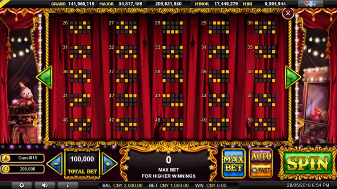 Paylines 26-50 by No Deposit Casino Guide