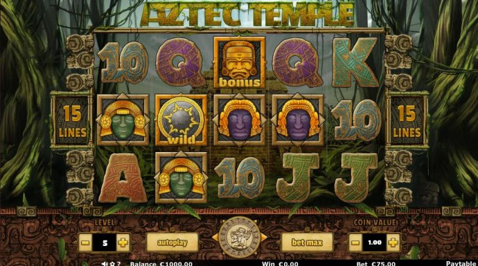 Aztec Temple by No Deposit Casino Guide