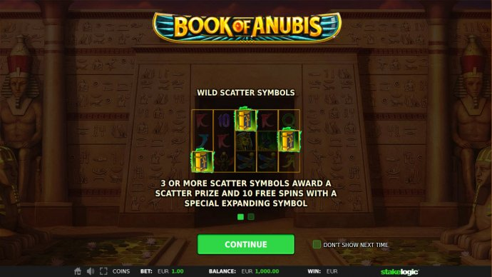 No Deposit Casino Guide image of Book of Anubis