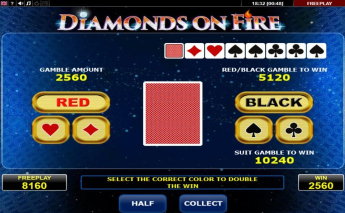 Images of Diamonds on Fire