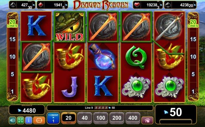 Dragon Reborn screenshot